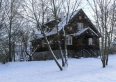 Chata zimą