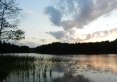 nasze zejście do jeziora