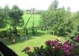Widok z balkonu kuchni (zachód)