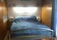 Łóżko dwuosobowe na piętrze