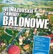 VI Mazurskie Zawody Balonowe Ełk 2013 o Puchar Prezydenta Miasta 25-27 lipca