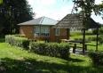 domek przy jeziorze