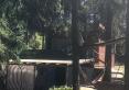 Domek od strony jeziora Staw Sajenek