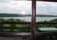Widok z pokoju na jezioro Hańcza